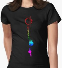 Lexa's Tattoo (Rainbow) Women's Fitted T-Shirt