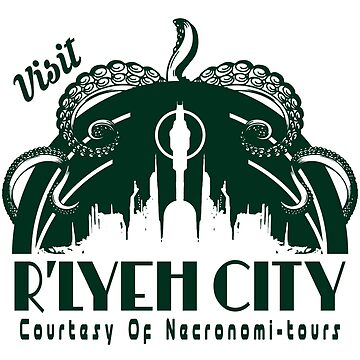 Visit R'lyeh by Tee-Frenzy