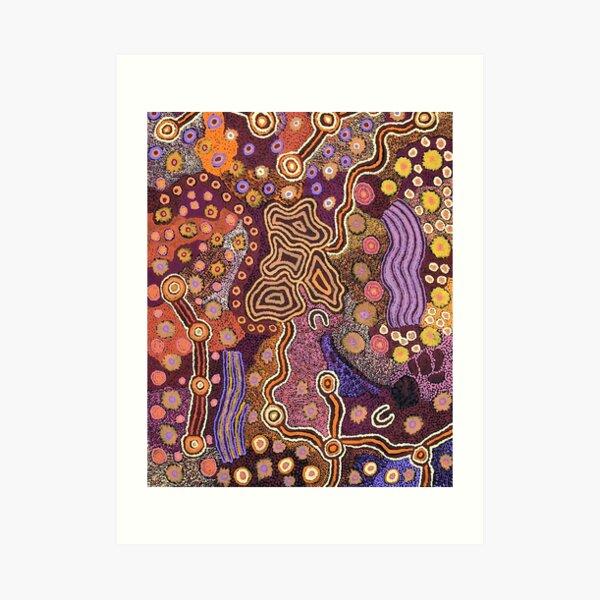 Australian aboriginal art Art Print