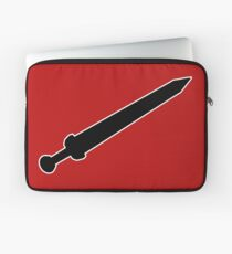 roma sword italia spada fencing Laptop Sleeve