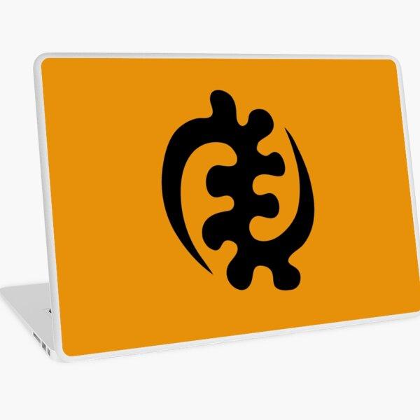 gye nyame africa symbol ghana Laptop Skin