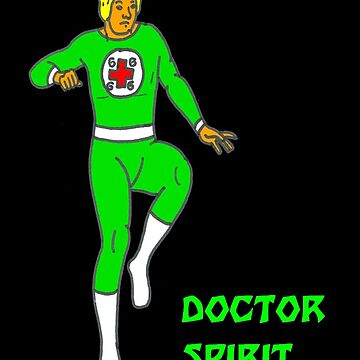 Doctor Spirit of the Icetone Defense Squad by theunaveragejoe