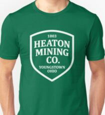 Heaton Mining Co. (alt. version white) - Inspired by Bruce Springsteen's 'Youngstown' (unofficial) Unisex T-Shirt