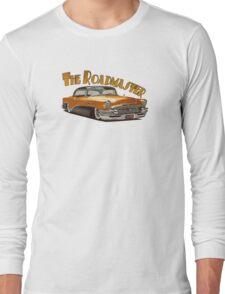 1955 Buick Roadmaster - Orange 3 Long Sleeve T-Shirt