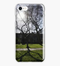 Sunshine over Rowntree Park iPhone Case/Skin