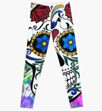 scull Leggings