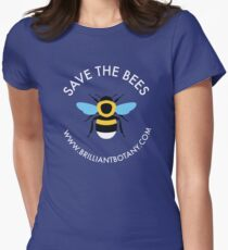 Save the Bees - Bumblebee Women's Fitted T-Shirt