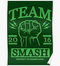 Team Smash Poster