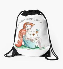 UNCONDITIONAL LOVE Drawstring Bag