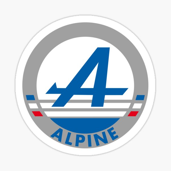 ALPINE A110 A310 A610 1992 Sticker