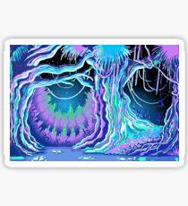 Magic Tale Blacklight Forest Background Sticker