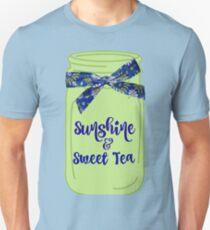 Southern: Sunshine & Sweet Tea Mason Jars Unisex T-Shirt