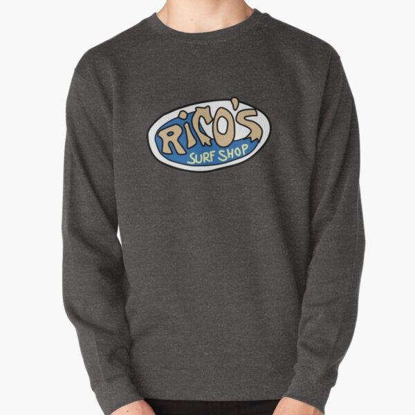 Rico's Surf Shop Logo Pullover Sweatshirt