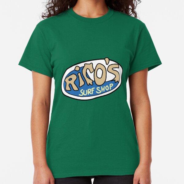 Rico's Surf Shop Logo Classic T-Shirt