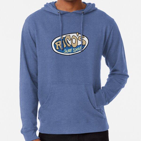 Rico's Surf Shop Logo Lightweight Hoodie