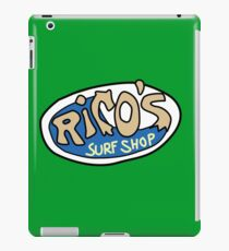 Rico's Surf Shop Logo iPad Case/Skin