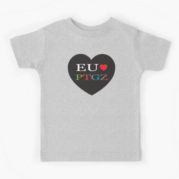 Eu Amo PTGZ Camiseta para niños