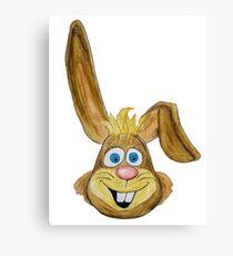 Hase / rabbit Leinwanddruck
