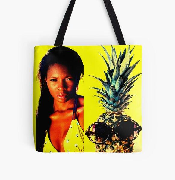 """BLACK GIRLS ROCKS!"" All Over Print Tote Bag"