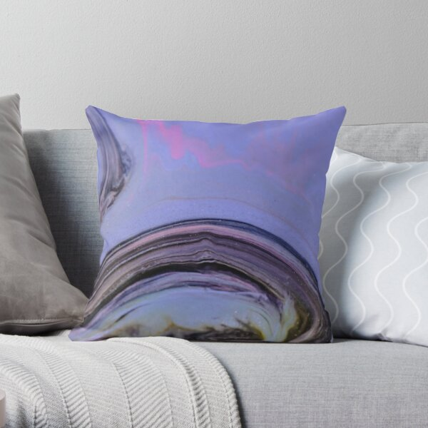 Magnetic Field Throw Pillow
