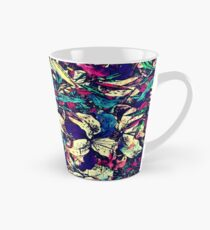 Contemporary Chic Watercolor Dragon Lilies Flowers Tall Mug