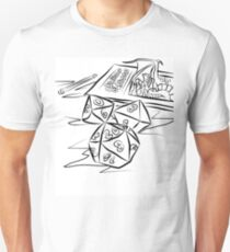 Dungeons and Dragons Unisex T-Shirt