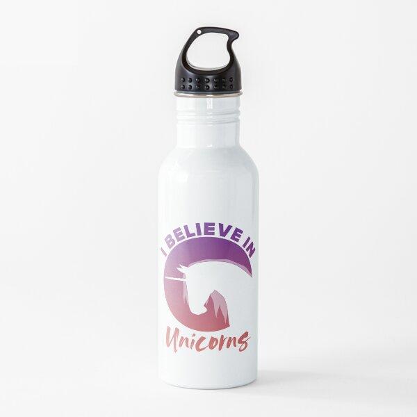 I Believe in Unicorns Water Bottle