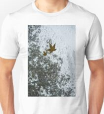The Beauty of Autumn Rains - a Vertical View Unisex T-Shirt