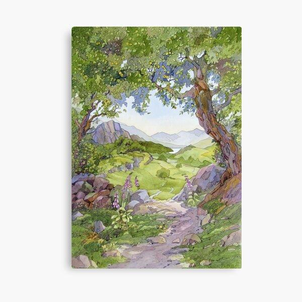 Crabapple, Capel Curig Canvas Print
