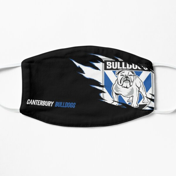 Canterbury Bulldogs NRL Face Mask Flat Mask