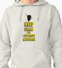 Keep Calm and - Stairs!? Pullover Hoodie