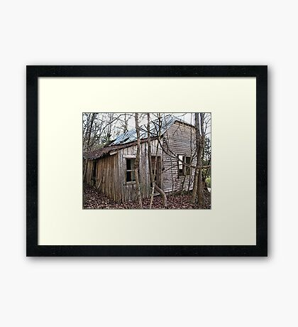 """""""Jackie's House""""... prints and products Framed Print"""