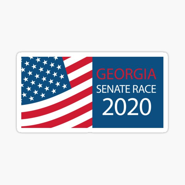 Georgia Senate Race 2020 Sticker