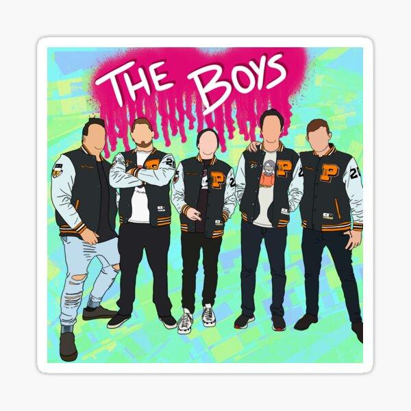 It's The Boys! Sticker