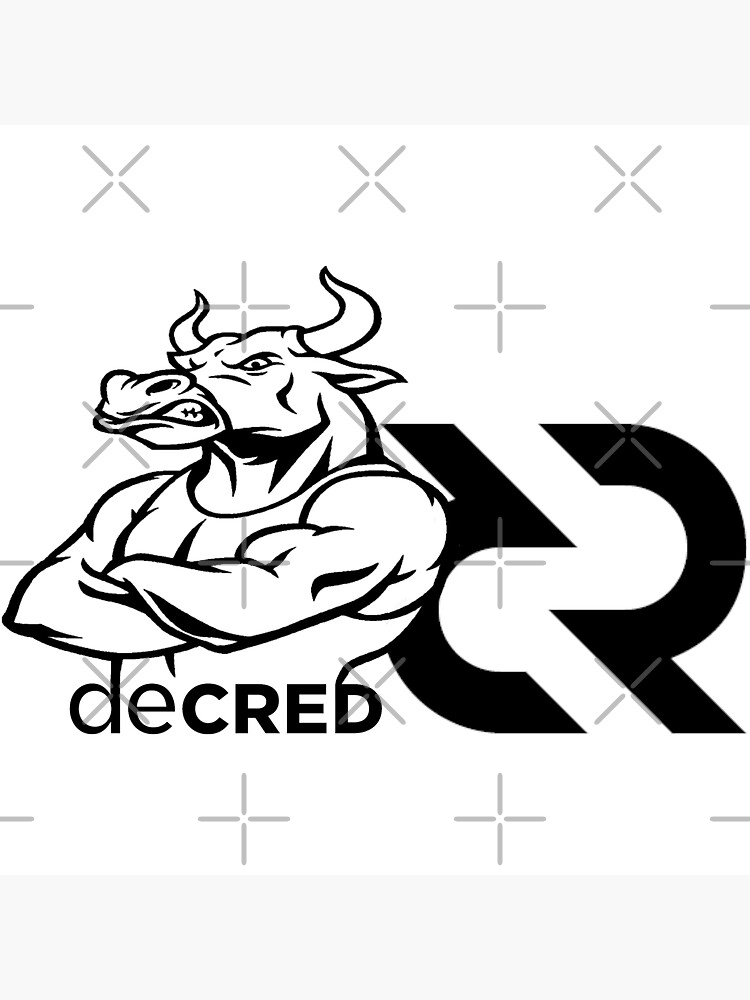 (sticker) Decred Strong Bull v2 by OfficialCryptos