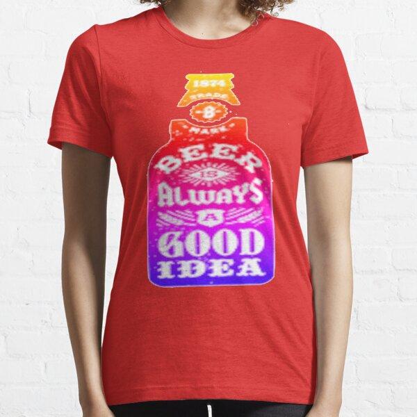 Bière  T-shirt essentiel