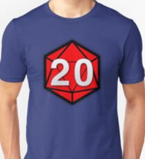 Natural 20 (Red Dice) - Critical Role T-Shirt