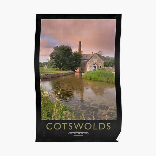Cotswold Railway Poster Poster