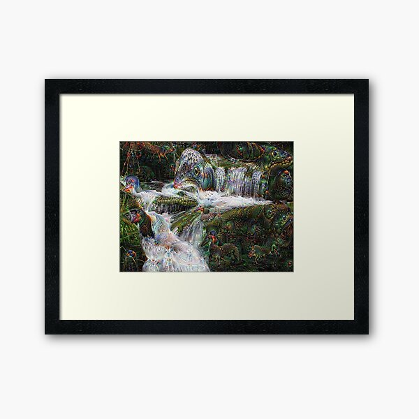 Fluid Life Framed Art Print