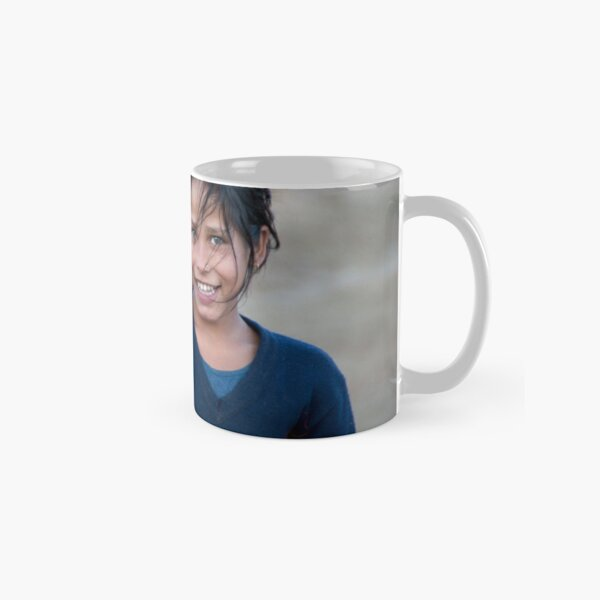 Happy Young Girl in Nepal Far West Classic Mug