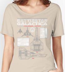 BATTLESTAR GALACTICA COLONIAL VIPER Women's Relaxed Fit T-Shirt