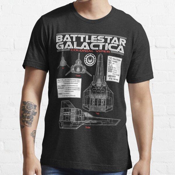 BATTLESTAR GALACTICA COLONIAL VIPER Essential T-Shirt