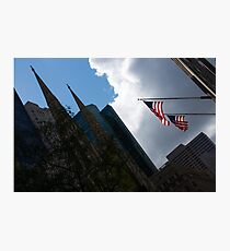 New York City Stars and Stripes Photographic Print