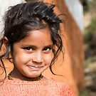 Young Girl in Nepal Far West by Clara Go (missatgerebut)