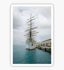 Traditional Sailing Ship, Sea Cloud Sticker