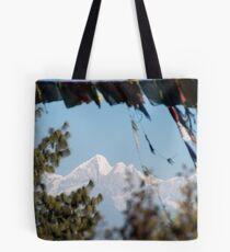 Himalayan View Tote Bag