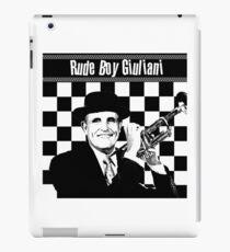 Rude Boy Giuliani iPad Case/Skin