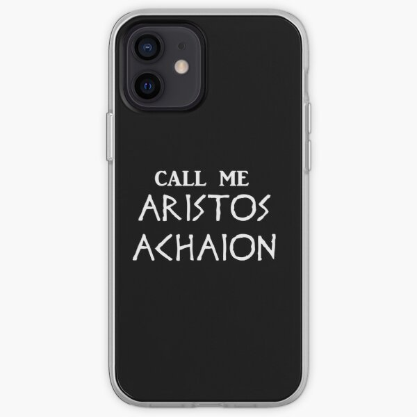 Call me Aristos Achaion / The Song of Achilles iPhone Soft Case