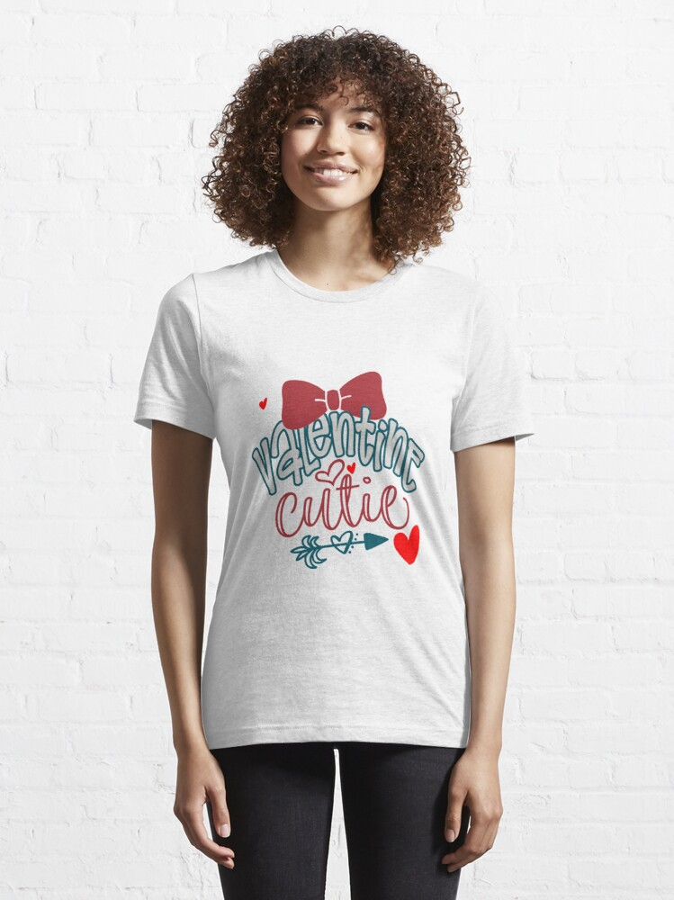 Alternate view of Valentine Cutie Essential T-Shirt