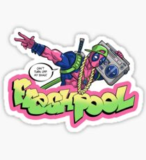 Fresh Pool (cool colors) Sticker